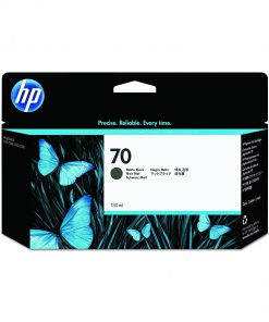 Cartucho HP 70 130ml Matte Black Vivera ink