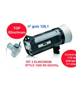 KIT 2 ELINCHROM STYLE 1200 RX DIGITAL