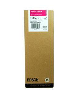 C13T606300 CARTUCHO INYECCION TINTA MAGENTA 220ML STYLUS PRO/4880