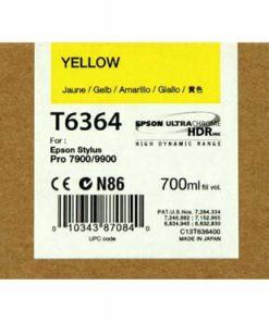C13T636400 CARTUCHO INYECCION TINTA AMARILLO 700ML STYLUS PRO/7900/9900/9700/7700/7890/WT7900/9890