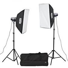 KIT FLASH ESTUDIO BASIC LINE-BL-400 SB KIT II