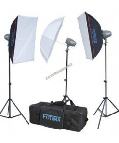 KIT FLASH ESTUDIO 3X200W FTF-200 FOTIMA