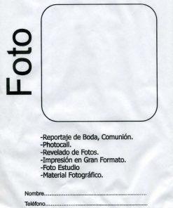 BOLSA PAPEL DE CELULOSA